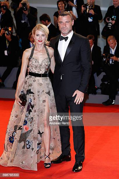 Naomi Watts and Liev Schreiber attend the premiere of 'The Bleeder' during the 73rd Venice Film Festival at Sala Grande on September 2 2016 in Venice...