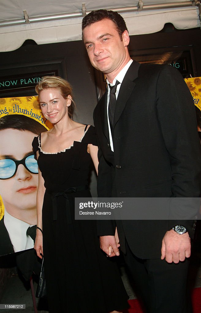 Naomi Watts and Liev Schreiber, writer and director of Everything is Illuminated