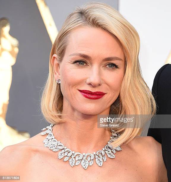 Naomi Watts arrives at the 88th Annual Academy Awards at Hollywood Highland Center on February 28 2016 in Hollywood California