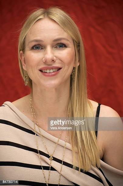 Naomi Watts at 'The International' press conference at the Four Seasons Hotel on January 30 2009 in Beverly Hills California
