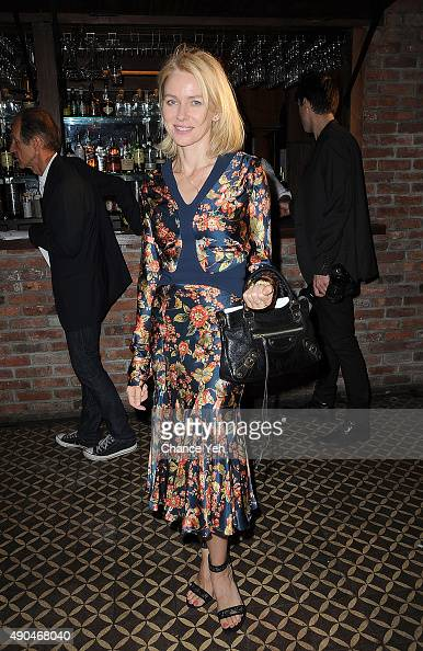 Naomi Watts attends 3rd Annual Turtle Ball at The Bowery Hotel on September 28 2015 in New York City