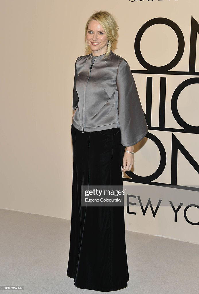 Naomi Watts attends Armani - One Night Only New York at SuperPier on October 24, 2013 in New York City.