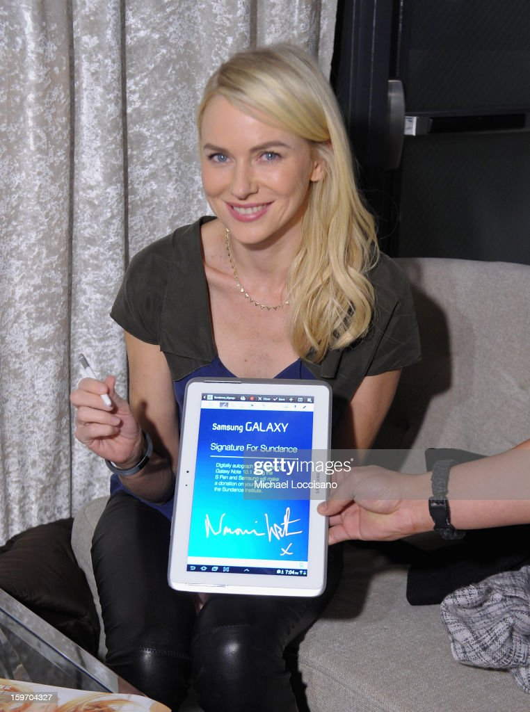 Naomi Watts attends Night 1 of Samsung at Village At The Lift 2013 on January 18, 2013 in Park City, Utah.