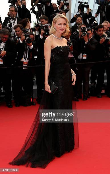 Naomi Watts attends Premiere of 'Mad Max Fury Road' during the 68th annual Cannes Film Festival on May 14 2015 in Cannes France