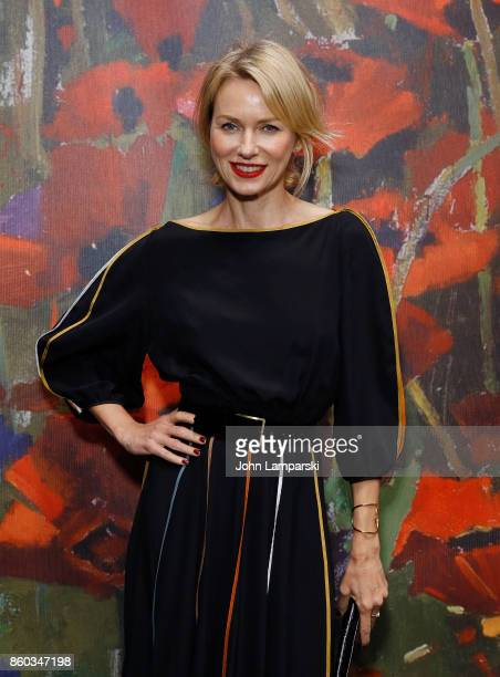 Naomi Watts attends the 2017 Take Home A Nude Art Party and auction at Sotheby's on October 11 2017 in New York City