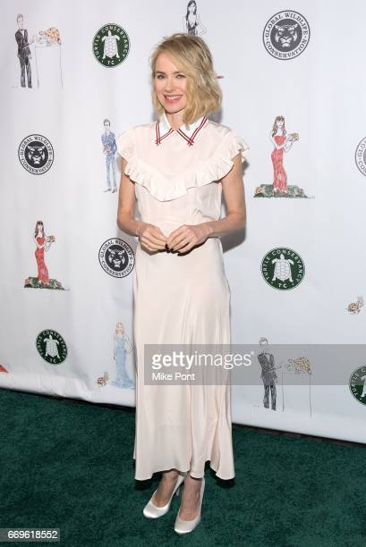 Naomi Watts attends the 2017 Turtle Ball at The Bowery Hotel on April 17 2017 in New York City