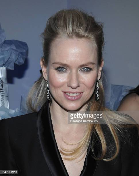 Naomi Watts attends the after party for the Cinema Society and Angel by Thierry Mugler screening of 'The International' at the Solomon R Guggenheim...