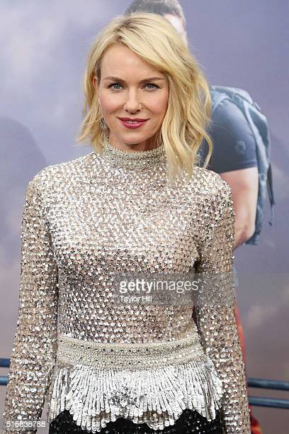 Naomi Watts attends the 'Allegiant' premiere at AMC Loews Lincoln Square 13 theater on March 14 2016 in New York City