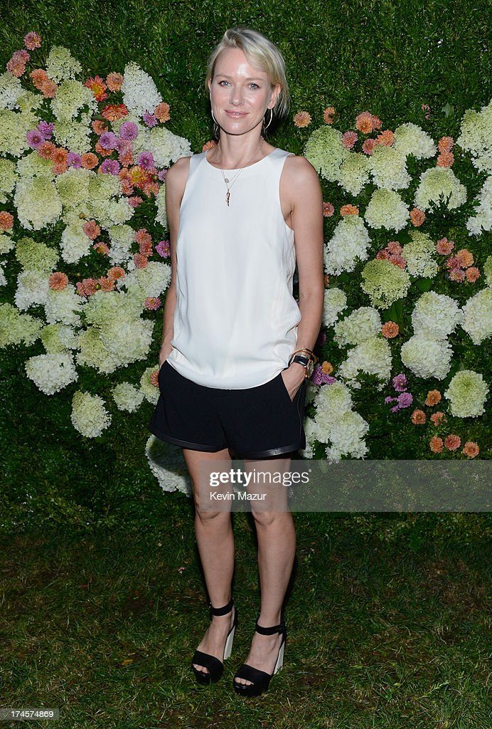 <a gi-track='captionPersonalityLinkClicked' href=/galleries/search?phrase=Naomi+Watts&family=editorial&specificpeople=171723 ng-click='$event.stopPropagation()'>Naomi Watts</a> attends the Baby Buggy Summer Dinner hosted by Jessica and Jerry Seinfeld and rag & bone on July 27, 2013 in East Hampton, New York.