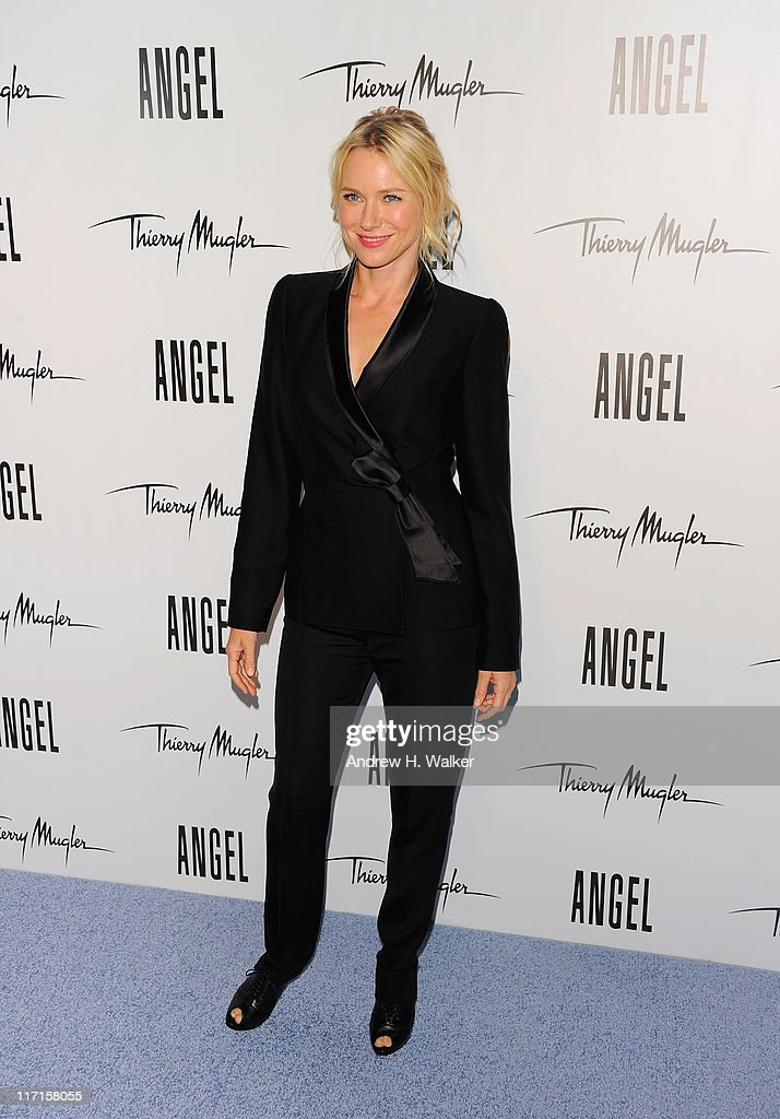 <a gi-track='captionPersonalityLinkClicked' href=/galleries/search?phrase=Naomi+Watts&family=editorial&specificpeople=171723 ng-click='$event.stopPropagation()'>Naomi Watts</a> attends the Eva Mendes launch of her new campaign for Angel by Thierry Mugler at IAC Building on June 23, 2011 in New York City.