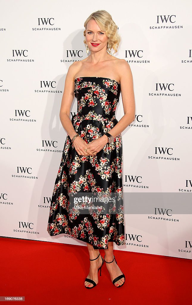Naomi Watts attends the IWC FilmMakers dinner during The 66th Annual Cannes Film Festival on May 19, 2013 in Cannes, France.