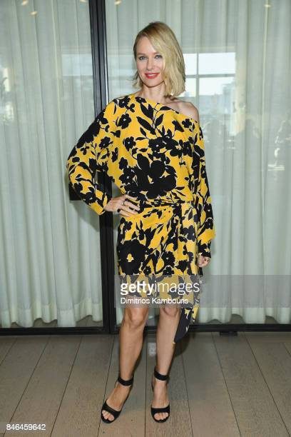 Naomi Watts attends the Michael Kors Collection Spring 2018 Runway Show at Spring Studios on September 13 2017 in New York City