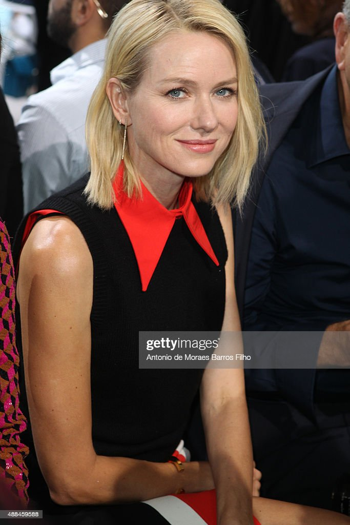 Naomi Watts attends the Michael Kors show as a part of Spring 2016 New York Fashion Week at Spring Studios on September 16, 2015 in New York City.