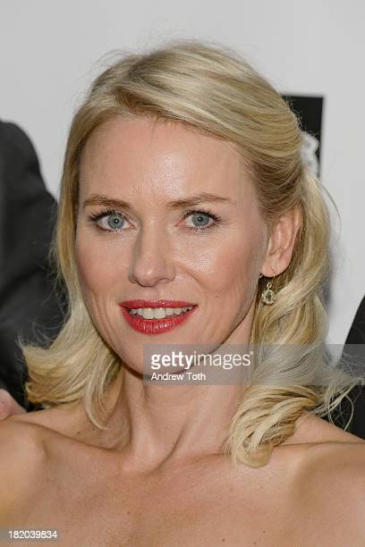 Naomi Watts attends the opening night gala world premiere of 'Captain Phillips' during the 51st New York Film Festival at Alice Tully Hall at Lincoln...