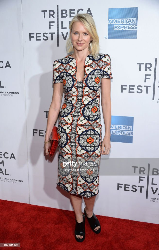 <a gi-track='captionPersonalityLinkClicked' href=/galleries/search?phrase=Naomi+Watts&family=editorial&specificpeople=171723 ng-click='$event.stopPropagation()'>Naomi Watts</a> attends the screening of 'Sunlight Jr.' during the 2013 Tribeca Film Festival at BMCC Tribeca PAC on April 20, 2013 in New York City.