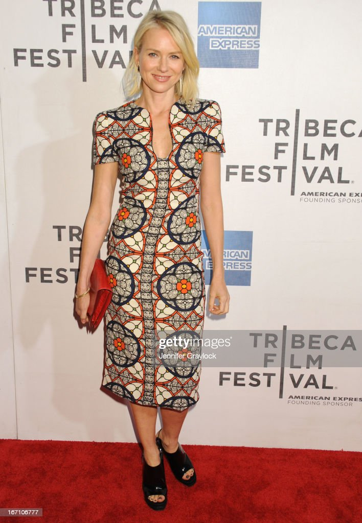 Naomi Watts attends the screening of 'Sunlight Jr' during the 2013 Tribeca Film Festival at BMCC Tribeca PAC on April 20 2013 in New York City