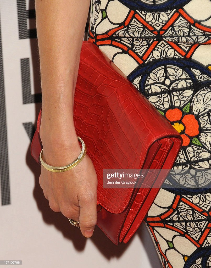 Naomi Watts (accessories detail) attends the screening of 'Sunlight Jr.' during the 2013 Tribeca Film Festival at BMCC Tribeca PAC on April 20, 2013 in New York City.