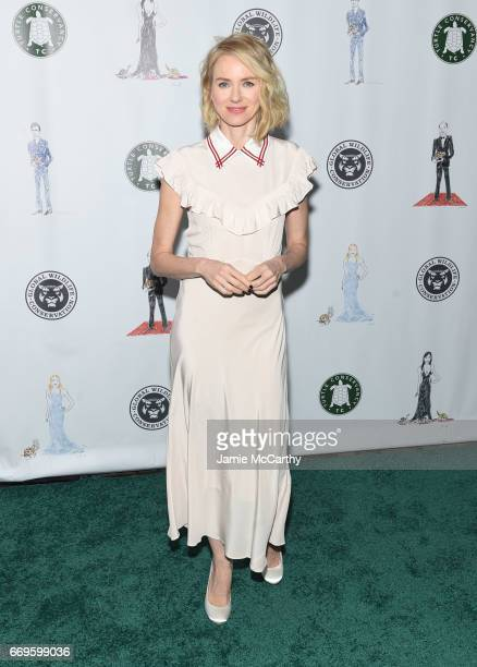 Naomi Watts attends The Turtle Conservancy's Fourth Annual Turtle Ballat The Bowery Hotel on April 17 2017 in New York City