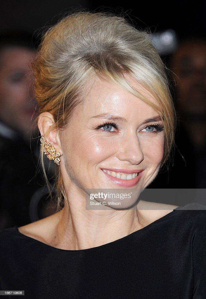 <a gi-track='captionPersonalityLinkClicked' href=/galleries/search?phrase=Naomi+Watts&family=editorial&specificpeople=171723 ng-click='$event.stopPropagation()'>Naomi Watts</a> attends the UK charity premiere of 'The Impossible' at BFI IMAX on November 19, 2012 in London, England.