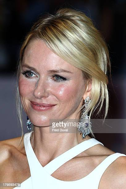 Naomi Watts attends the World Premiere of 'Diana' at Odeon Leicester Square on September 5 2013 in London England