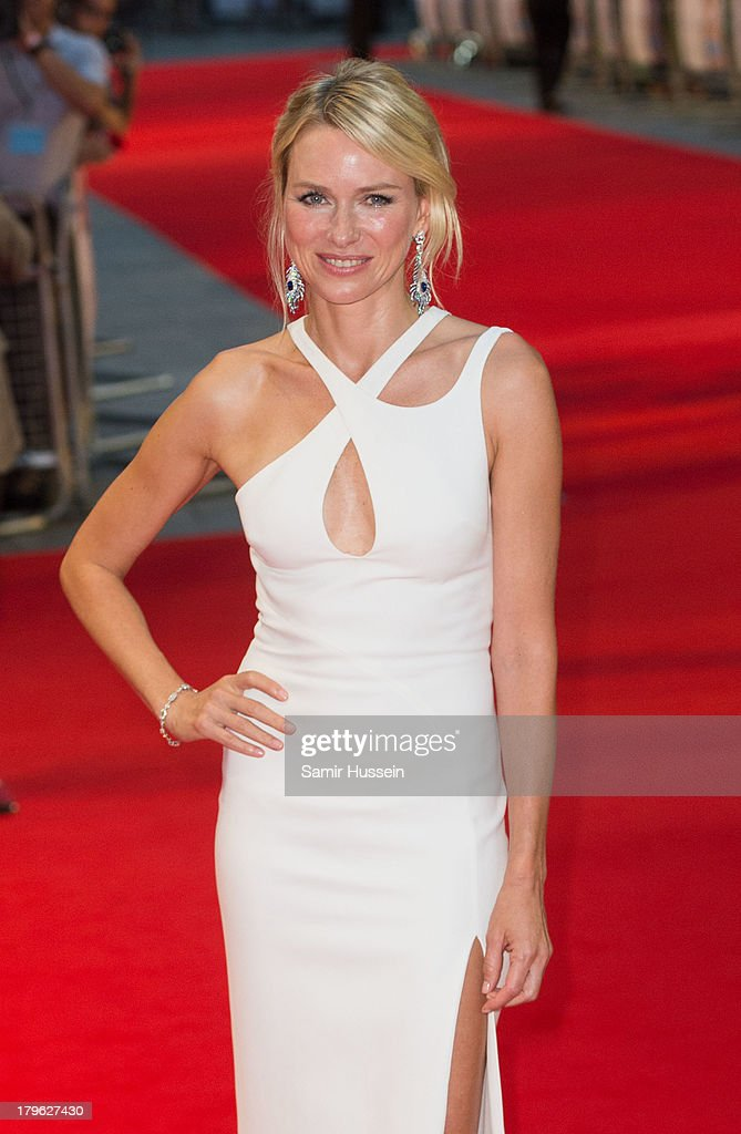 Naomi Watts attends the World Premiere of 'Diana' at Odeon Leicester Square on September 5, 2013 in London, England.