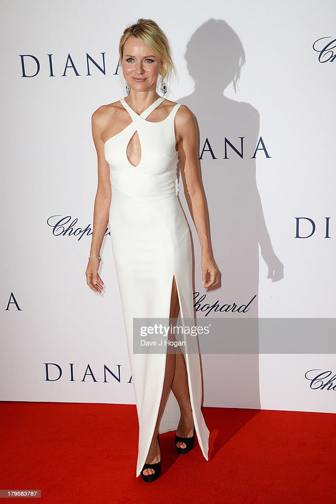 Naomi Watts attends the world premiere of 'Diana' at The Odeon Leicester Square on September 5, 2013 in London, England.