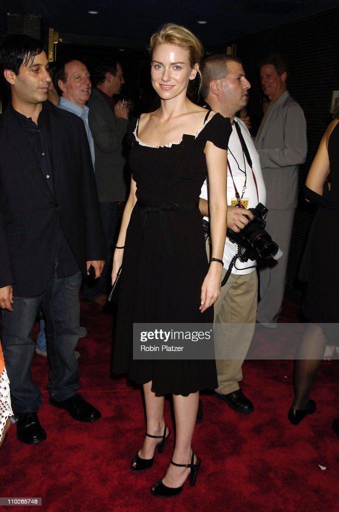 Naomi Watts during 'Everything is Illuminated' - New York City Premiere at The Landmark Sunshine Cinema in New York, New York, United States.
