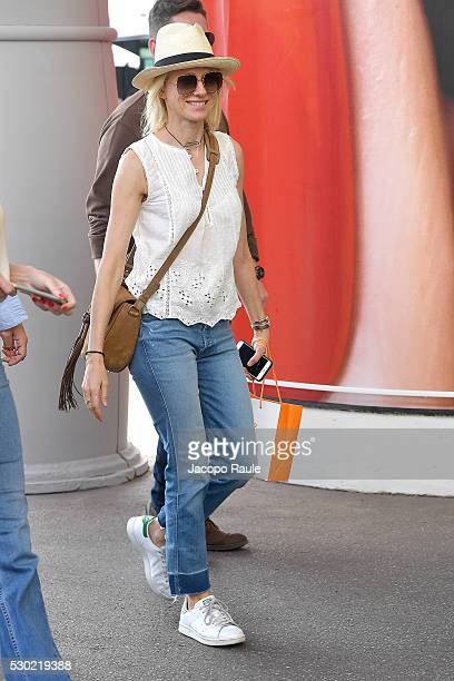 Naomi Watts is seen arriving at Hotel Martinez during the annual 69th Cannes Film Festival at on May 10 2016 in Cannes France