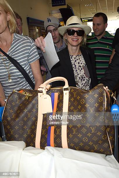 Naomi Watts is seen arriving in Nice for the 67th Annual Cannes Film Festival on May 15 2014 in Nice France