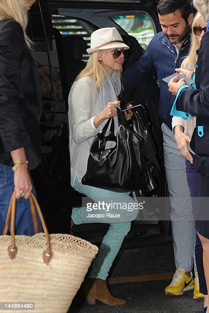 Naomi Watts is seen at Nice Airport during 65th Cannes Film Festival on May 20 2012 in Nice France