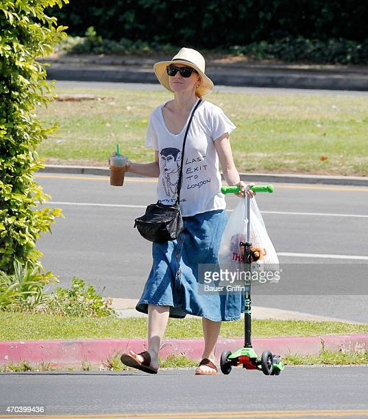 Naomi Watts is seen in Los Angeles on April 19 2015 in Los Angeles California