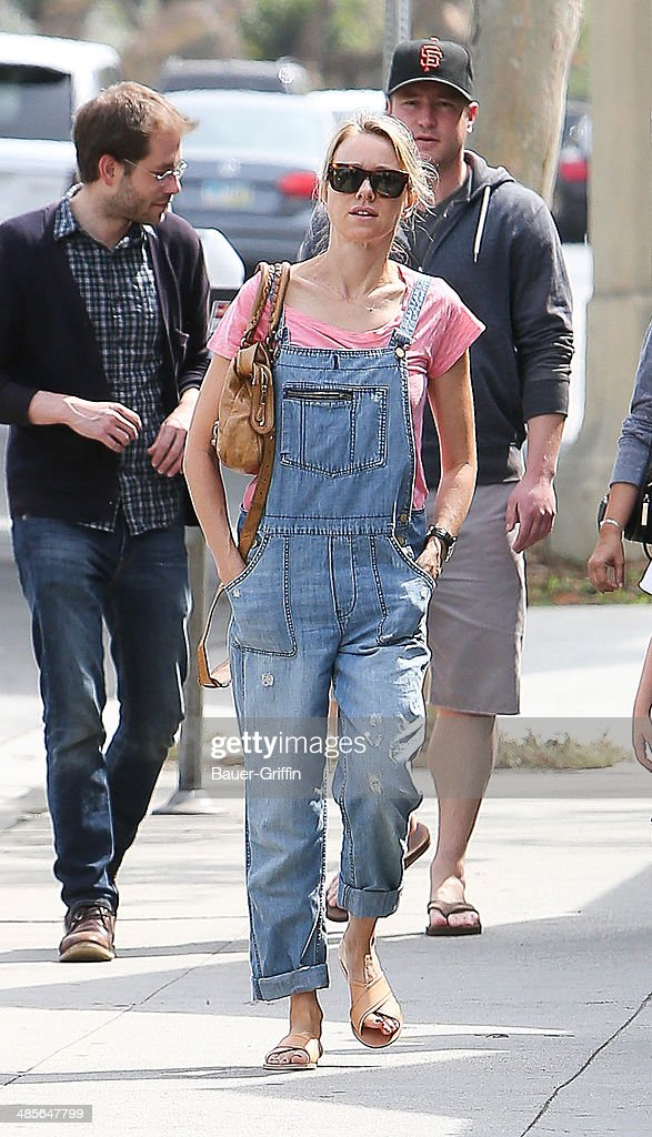 Naomi Watts is seen on April 19 2014 in Los Angeles California