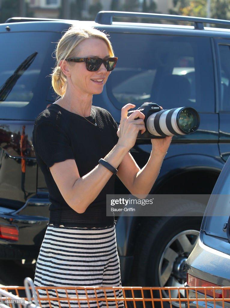Naomi Watts is seen on January 17, 2014 in Los Angeles, California.