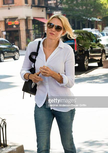 Naomi Watts is seen on September 08 2015 in New York City