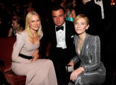 NEW YORK JUNE 13 Naomi Watts Liev Schreiber and Cate Blanchett in the audience at the 64th Annual Tony Awards at Radio City Music Hall on June 13...