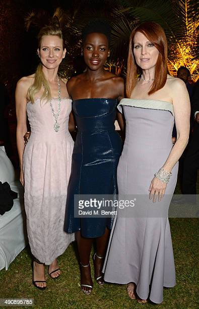 Naomi Watts Lupita Nyong'o and Julianne Moore attend the IFP Calvin Klein Collection euphoria Calvin Klein celebration of Women In Film on May 15...