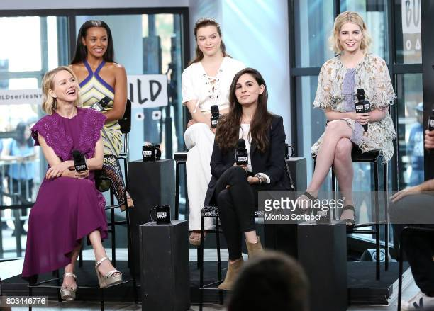 Naomi Watts Melanie Liburd Sophie Cookson Lisa Rubin and Lucy Boynton discuss 'Gypsy' at Build Studio on June 29 2017 in New York City