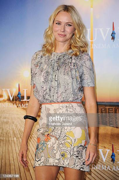 Naomi Watts poses at a photocall during the 37th Deauville American Film Festival on September 9 2011 in Deauville France