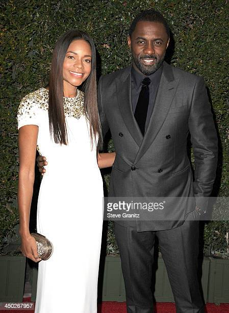 Naomie Harris and Idris Elba arrives at the The Board Of Governors Of The Academy Of Motion Picture Arts And Sciences' Governor Awards at Dolby...