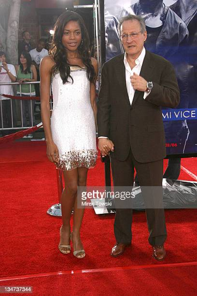 Naomie Harris and Michael Mann during 'Miami Vice' Los Angeles World Premiere at Mann Village Theatre in Westwood California United States