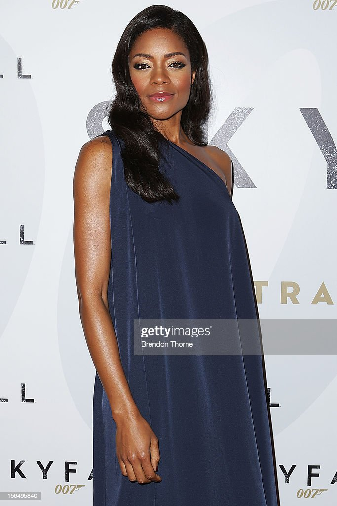 <a gi-track='captionPersonalityLinkClicked' href=/galleries/search?phrase=Naomie+Harris&family=editorial&specificpeople=238918 ng-click='$event.stopPropagation()'>Naomie Harris</a> arrives at the 'Skyfall' Australian premiere at the State Theatre on November 16, 2012 in Sydney, Australia.