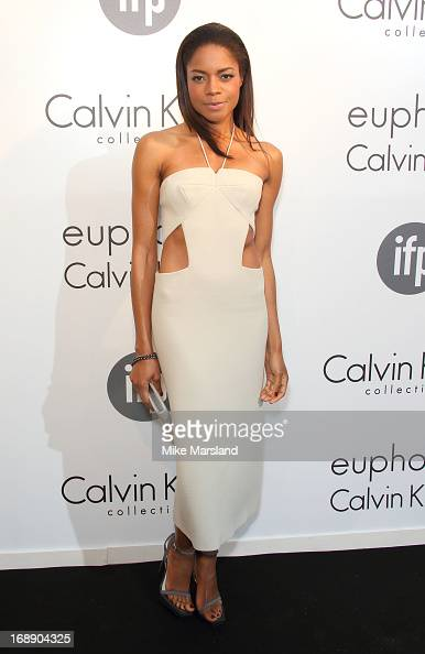 Naomie Harris attends a party hosted by Calvin Klein and IFP to celebrate women in film at The 66th Annual Cannes Film Festival at L'Ecrin Plage on...