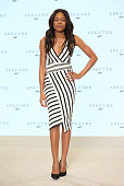 Naomie Harris attends a photocall for Bond 24 at Pinewood Studios on December 4 2014 in Iver Heath England