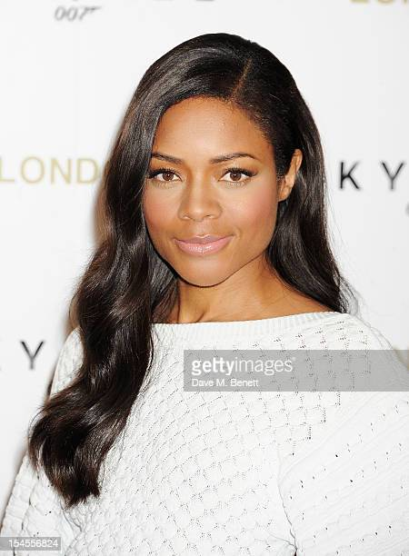 Naomie Harris attends a photocall for the new James Bond film 'Skyfall' at The Dorchester on October 22 2012 in London England