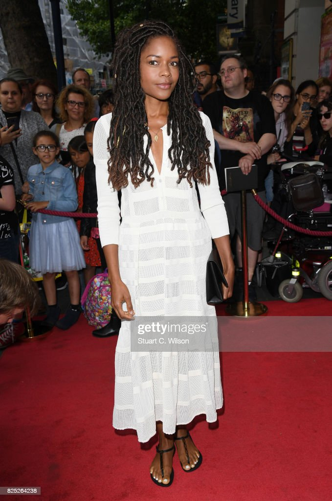 Naomie Harris attends David Walliams 'Gangsta Granny' West End press night at the Garrick Theatre on August 1, 2017 in London, England.