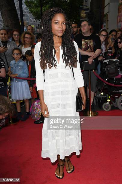 Naomie Harris attends David Walliams 'Gangsta Granny' West End press night at the Garrick Theatre on August 1 2017 in London England