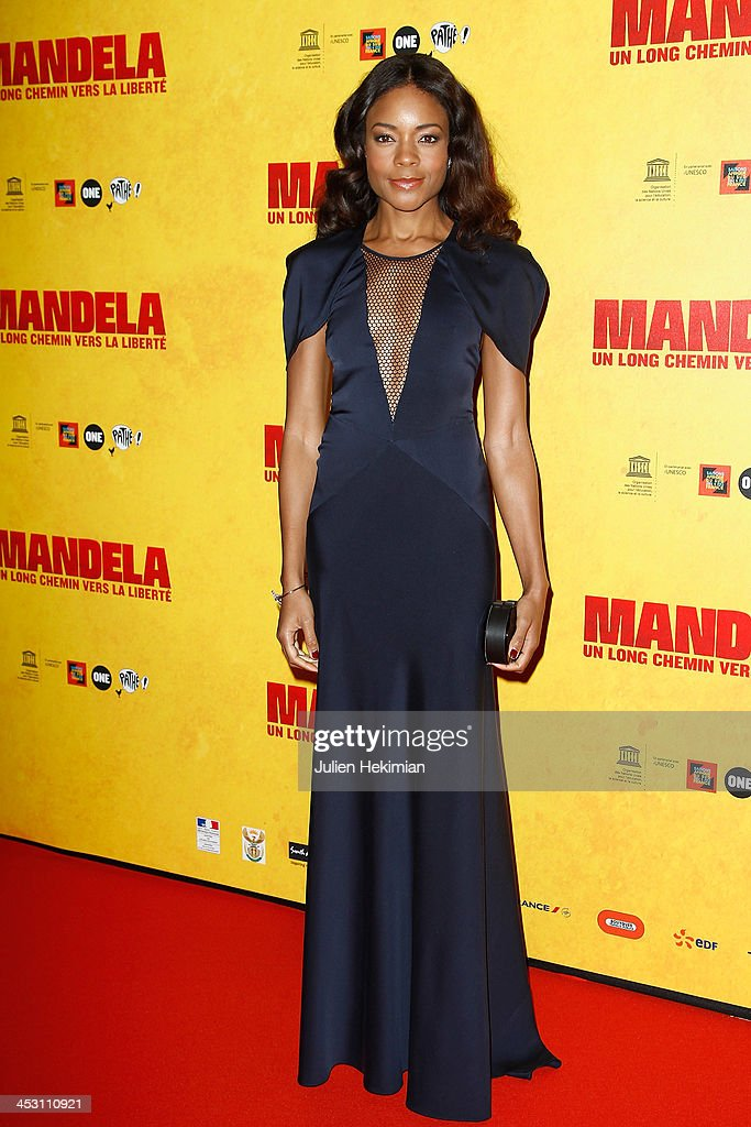 <a gi-track='captionPersonalityLinkClicked' href=/galleries/search?phrase=Naomie+Harris&family=editorial&specificpeople=238918 ng-click='$event.stopPropagation()'>Naomie Harris</a> attends 'Mandela : Long Walk to Freedom' Paris Premiere at UNESCO on December 2, 2013 in Paris, France.