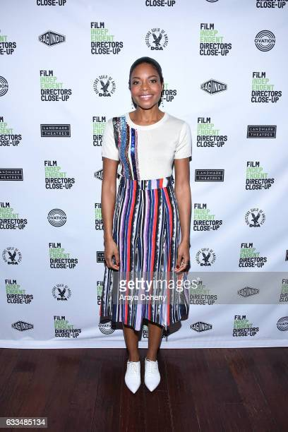 Naomie Harris attends the 16th Annual Film Independent Directors CloseUp Series 'Moonlight' at Landmark Nuart Theatre on February 1 2017 in Los...