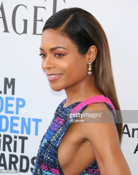 Naomie Harris attends the 2017 Film Independent Spirit Awards on February 25 2017 in Santa Monica California