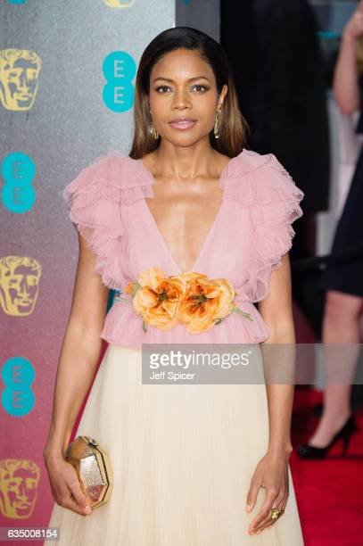 Naomie Harris attends the 70th EE British Academy Film Awards at Royal Albert Hall on February 12 2017 in London England